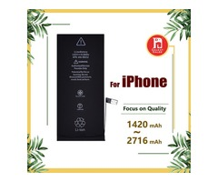 Battery for apple iphone 4s 5g 5s 5c 6g 6s 6plus 7g 7 8 plus X Batteries Replacement Strong Flex 0 C