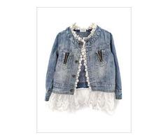 Denim Jacket for Girls - Miabellebaby