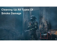 Tips For Cleaning Up Smoke Damage After A Fire