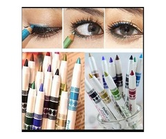 Canserin 12 Colors Eyeliner Pen Shadow Makeup Cosmetic Set