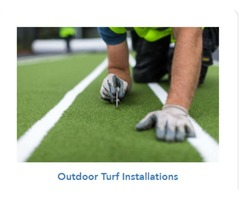 Hire Professionals for Artificial Turf Field Installation