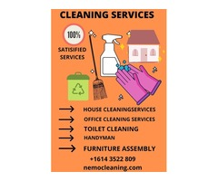 Home Cleaning Services Columbus Ohio -NemoCleaning-Discount Offer