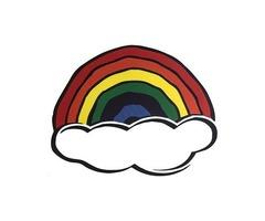 Custom Stickers No Minimum | Rainbow Die Cut Stickers | Customsticker.com ™