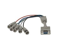VGA Breakout Cables - HD15 to BNC/RCA | SF Cable