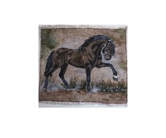 Black Horse Painting