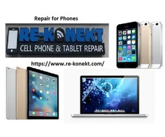 Are you searching for reliable Repair for Phones? Then Re-konekt is the best place for you