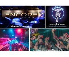 Take out the singer inside you at Atlanta Karaoke Bar