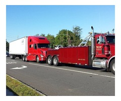 Heavy-duty truck towing services in NJ