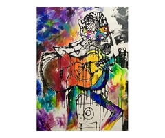 Canvas Painting - Online Art Gallery - Original Wall Art Paintings | free-classifieds-usa.com