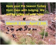 Turkey hunt class and lodging
