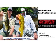Join us for excellent Delray beach freshwater Fishing