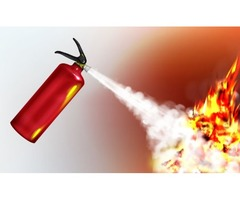 Fire extinguisher maintenance services.