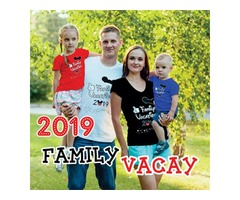 Buy family vacation custom t-shirts