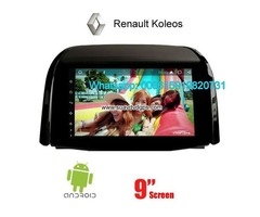 Renault Koleos Car audio radio android GPS navigation camera