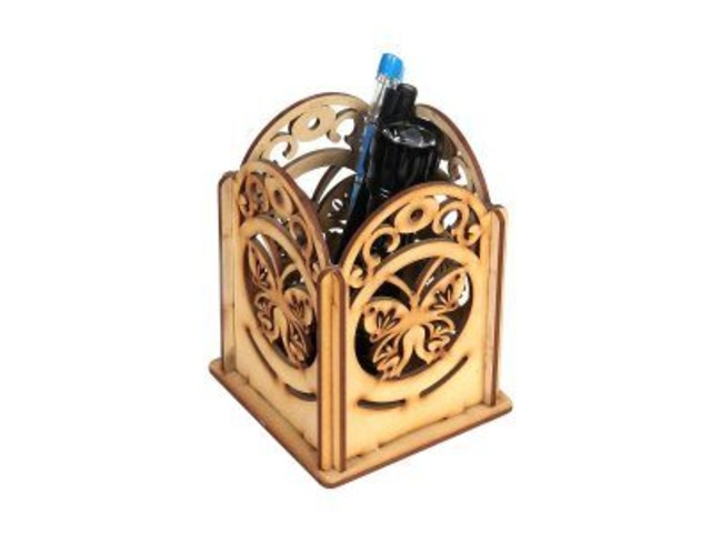 Wooden Pen Stand   free-classifieds-usa.com
