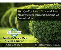 Top Quality Lawn Care And Lawn Maintenance Services In Coppell, TX From GoMow