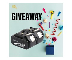 Giveaway Time!! Enter to F3 Club Giveaway and Win 2 pack of Tool Battery