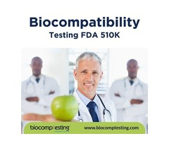 Biocompatibility Testing FDA 510K