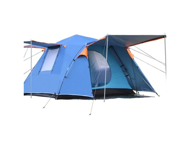 Outdoor 3-4 People Automatic Tent Camping Waterproof Double Layer Canopy Sunshade | free-classifieds-usa.com