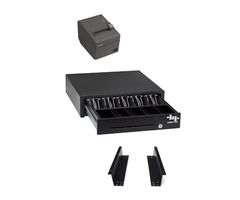 POS Hardware Bundle for Square Stand- Cash Drawer