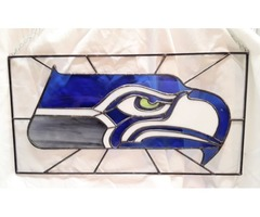 Seattle Seahawks - stained glass