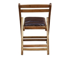 Royal Bharat Pagoda Chair with Comfortable Cushion Seat for Indoor | Outdoor | Brown