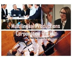 Multilingual Productions in Florida Provides Quick and Effective Translation Services