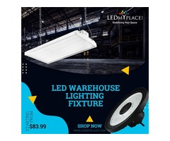 Install Our LED Warehouse Lighting Fixtures On Sale