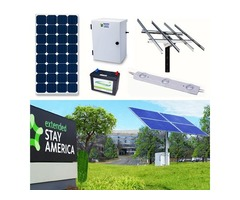Solar Security Camera System