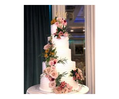Custom Wedding Cakes - Great Designs, Competitive Pricing