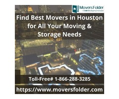 Find Best Movers in Houston for Your Moving & Storage Needs