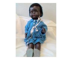 Black Walkie Talkie Doll