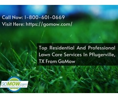 Top Residential And Professional Lawn Care Services In Pflugerville, TX From GoMow