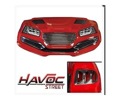 Madjax Yamaha G29/Drive Havoc Street Body Kit in Red