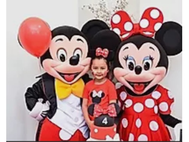 Hire Mickey Mouse Character   Mascot Characters   Party Characters   free-classifieds-usa.com