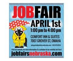 DRIVE-THRU JOB FAIR, April 1, 2020 Omaha, NE
