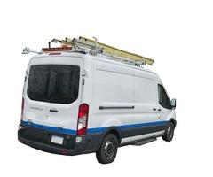Drop-Down Ladder Rack - NEW for Full Size Van Medium / High Roof