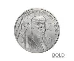 President Trump 2020 1 oz Silver Round