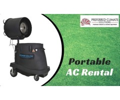 Get Evaporative Fan on Rent at Affordable Price