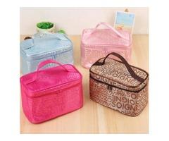 Hot Sale Colors Many Designs Cheap wholesale Women's Travel Makeup quartet cosmetic Bag