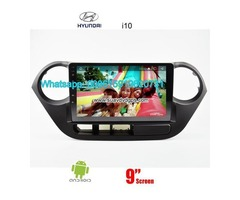 Hyundai i10 car audio radio android wifi GPS navigation camera