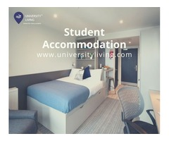 Find your spacious and fully furnished student accommodation at Quad East