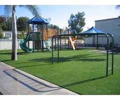Fake Grass for Play Ground - Smart Grass USA