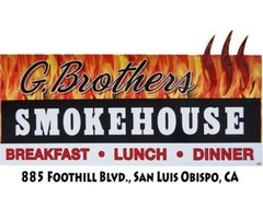 Get the Perfectly Cooked San Luis Obispo BBQ at G Brothers