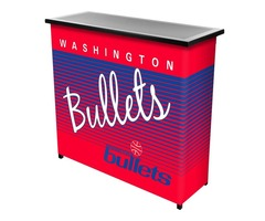Washington Bullets Hardwood Classics NBA Portable Bar