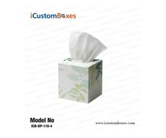 Custom tissue boxes wholesale at discounted price