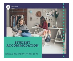 Find your spacious and fully furnished student accommodation at St George Towers