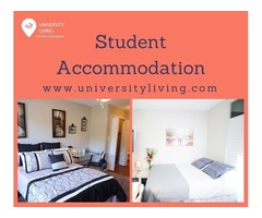 Find your spacious and fully furnished student accommodation at Logan and Chamberlain