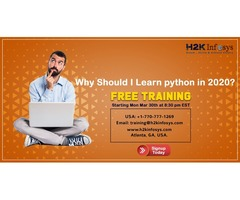 Free Python Online Training by H2kinfosys