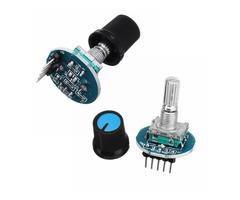 2Pcs Rotating Potentiometer Knob Cap Digital Control Receiver Decoder Module Rotary Encoder Module F